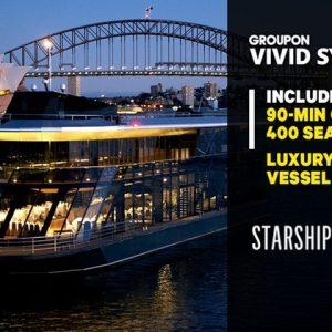 Vivid Cruise with Starship Sydney